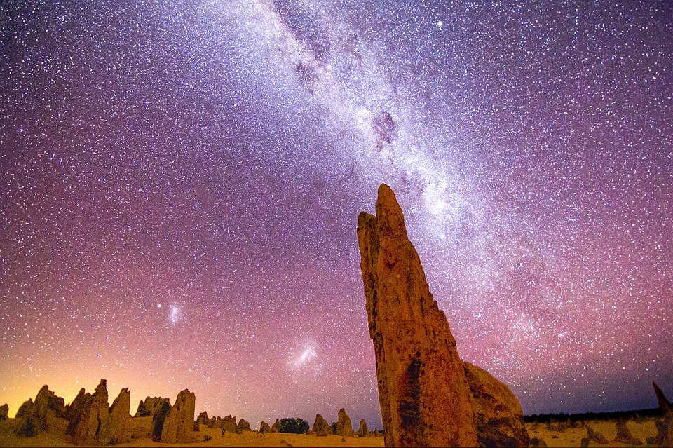 Aboriginal stars night