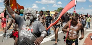 Australia day protest invasion day aboriginal australia