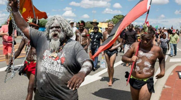 Australia day protest invasion day aboriginal australia