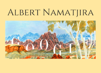 Albert namatjira google birthday aboriginal artist