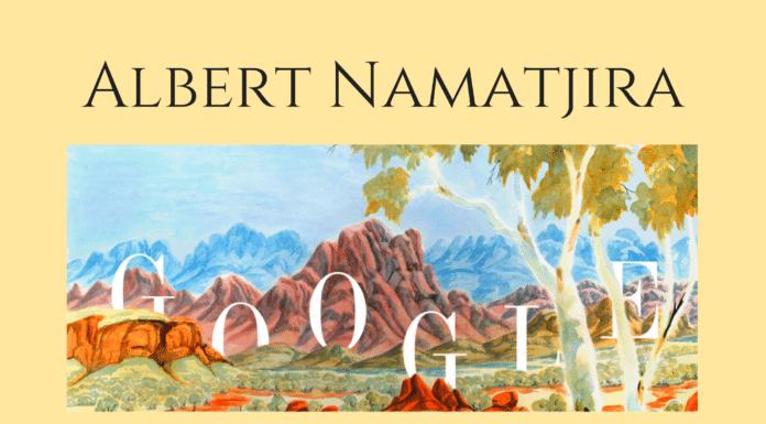 Albert namatjira google birthday aboriginal artist