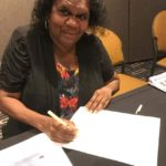 Barbara Bandichoota signs historic economic treaty