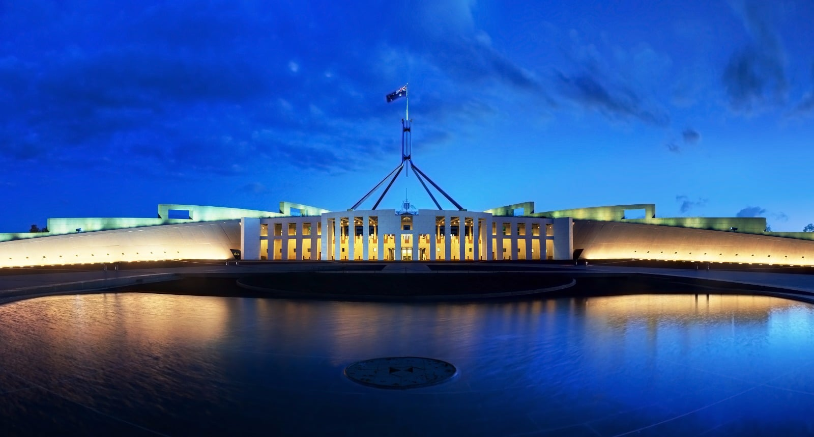 parliament house canberra clinton pryor governor general