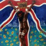 danny eastwood aboriginal art lest we forget 1788