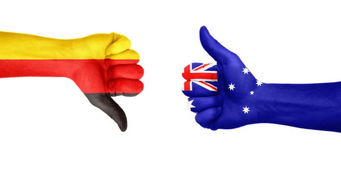 german vs australian genocide
