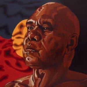 jandamarra cadd aboriginal artist portrait archie roach