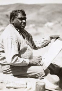 albert namatjira aboriginal artist watercolour
