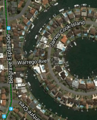 warrego james cook island sydney aboriginal