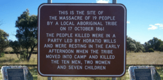 white history vs black history aboriginal memorial australia