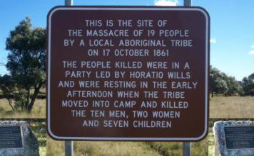 white history vs black history aboriginal memorial australia