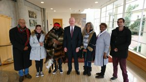Walk for Justice meeting with the Governor General