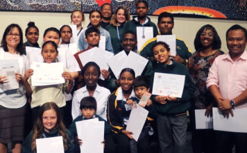 SCIENCE AWARD COOLGARDIE WESTERN AUSTRALIA REMOTE ABORIGINAL SCHOOL