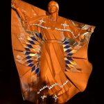 dignity statue night south dakota chamberlain indigenous