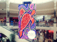 elverina johnson mainie lendlease indigenous artwork digital shopping centre display