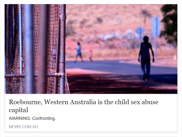 roebourne media attack