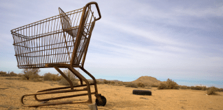 shopping trolley remote aboriginal communities australia indigenous