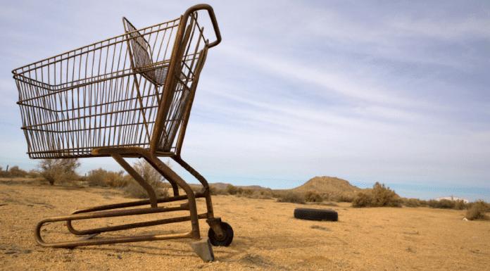 shopping trolley remote aboriginal communities australia indigenous