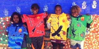 aboriginal school uniforms lajamanu