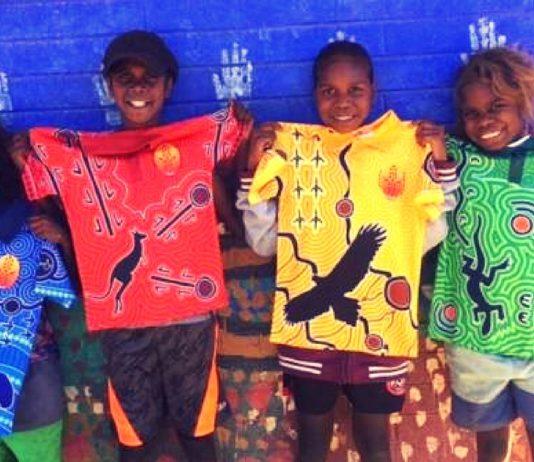 aboriginal school uniforms lajamanu