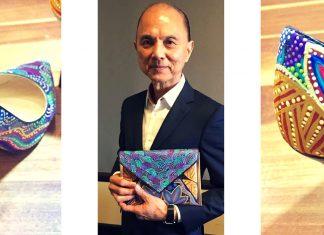 jarawee briana enoch aboriginal artist fashion jimmy choo