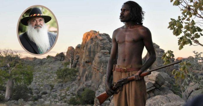 pat dodson indigenous militia satire