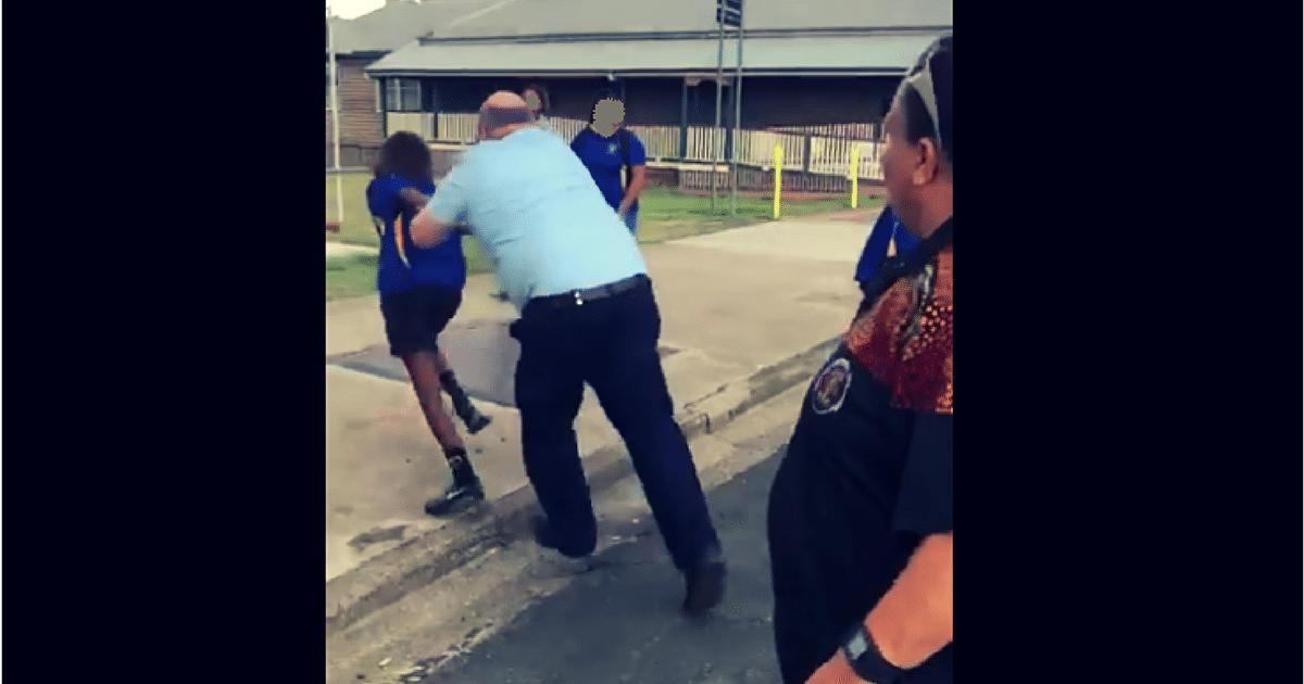 police murgon assault aboriginal indigenous girl video queensland