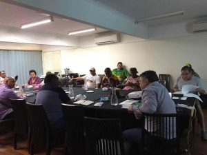 Gudang Yadhaykenu Elders and family representatives meeting