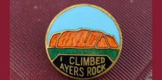 i climbed ayers rock pin uluru climb fact check