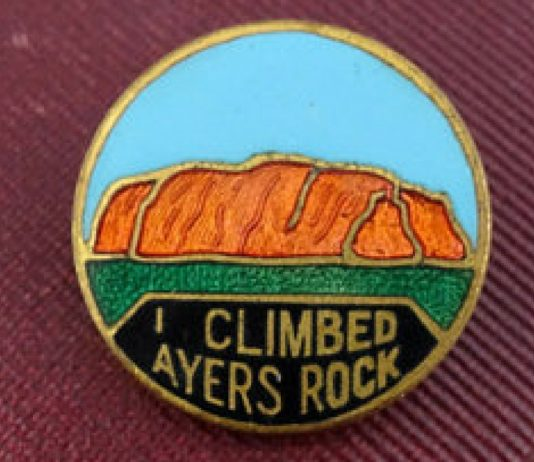 i climbed ayers rock pin uluru climb fact check