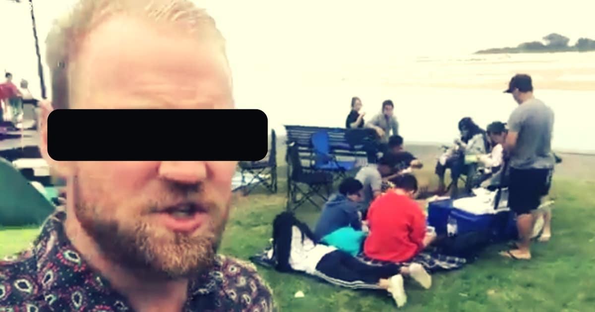 racist rant australia central coast gosford the entrance migrants