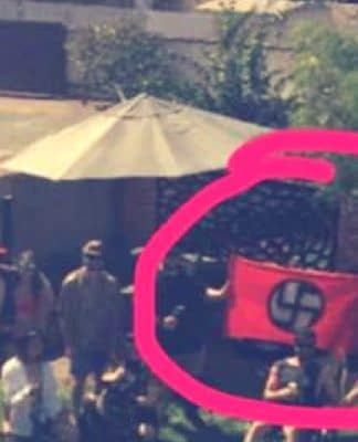 kalgoorlie racist nazi party australia day victory party