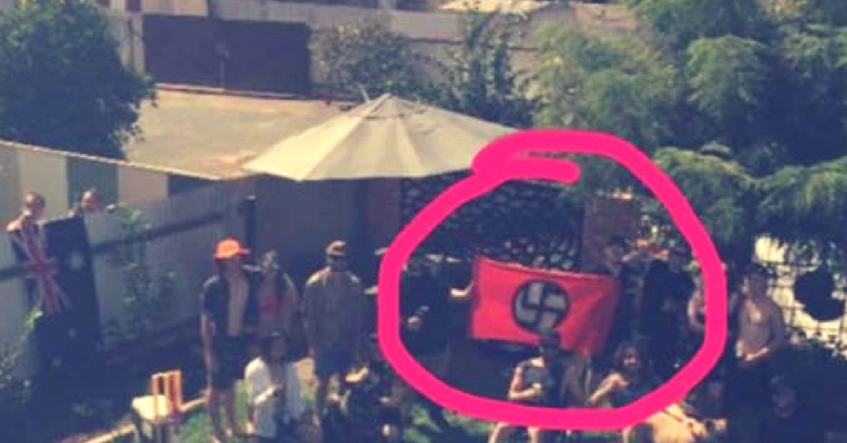 kalgoorlie nazi party racist australia day victory party