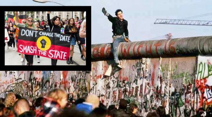 like the berlin wall australia day will fall