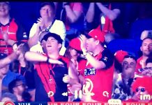 nazi salute racist melbourne renegades fan white power
