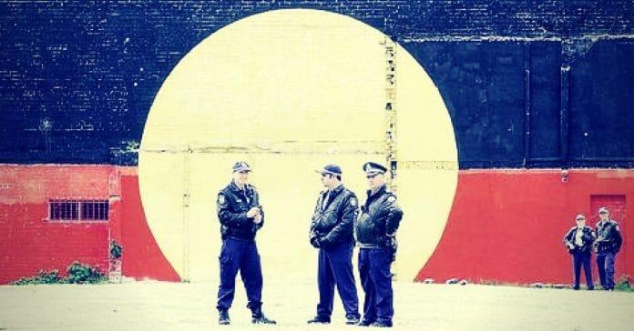 aboriginal flag history timeline redfern police