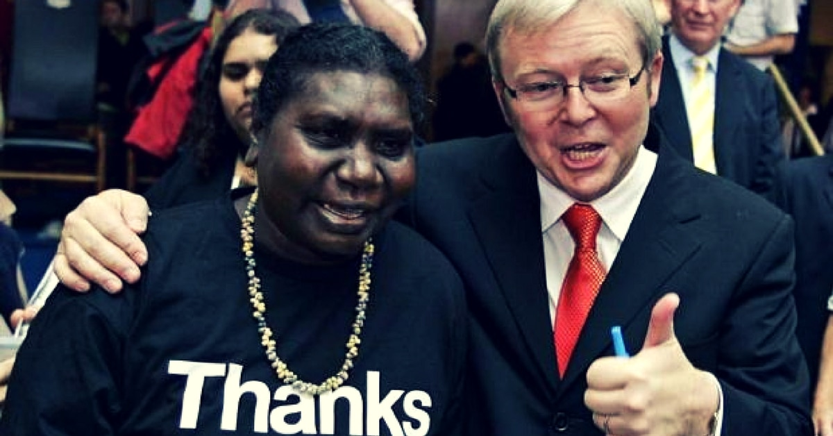 kevin rudd apology white guilt national sorry day