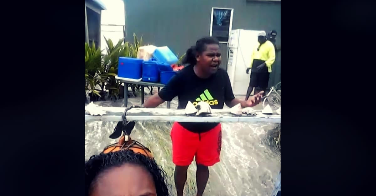 torres strait king tides 2018 residents ignored