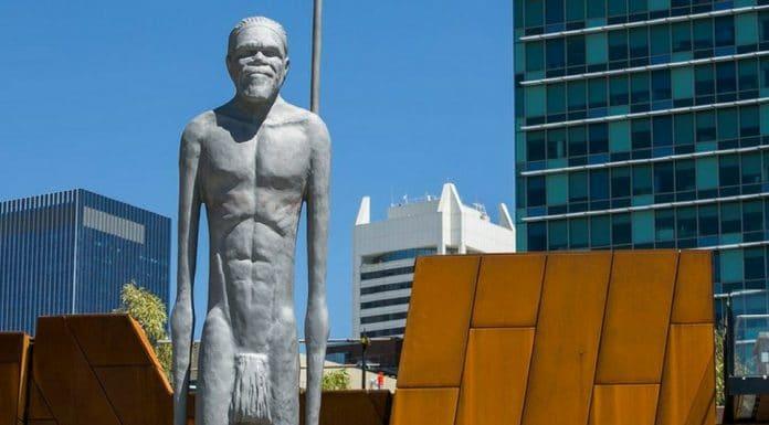 yagan statue yagan square perth aboriginal noongar