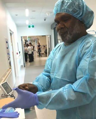 aboriginal healer ngangkari traditional medicine australia hospital