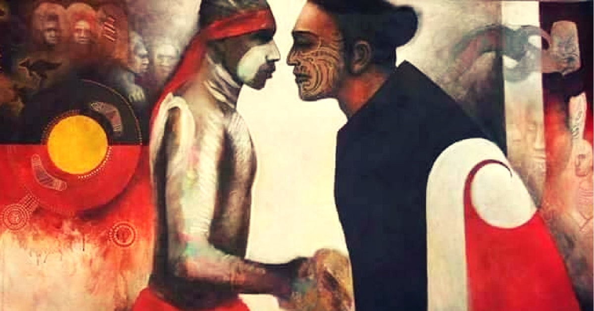 aboriginal maori haka corroboree perth anzac day 2018