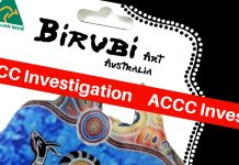 birubi art accc federal court fake aboriginal art
