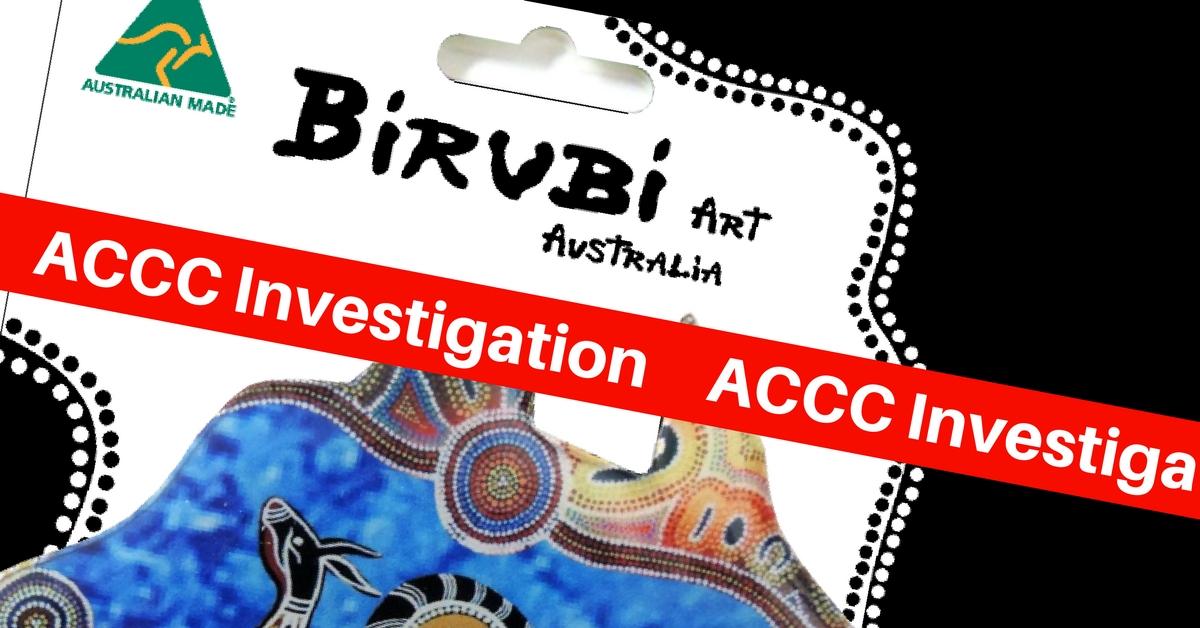 birubi art accc federal court fake aboriginal art