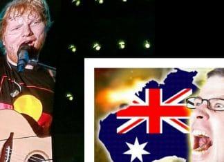 ed sheeran racist white tears aboriginal shirt