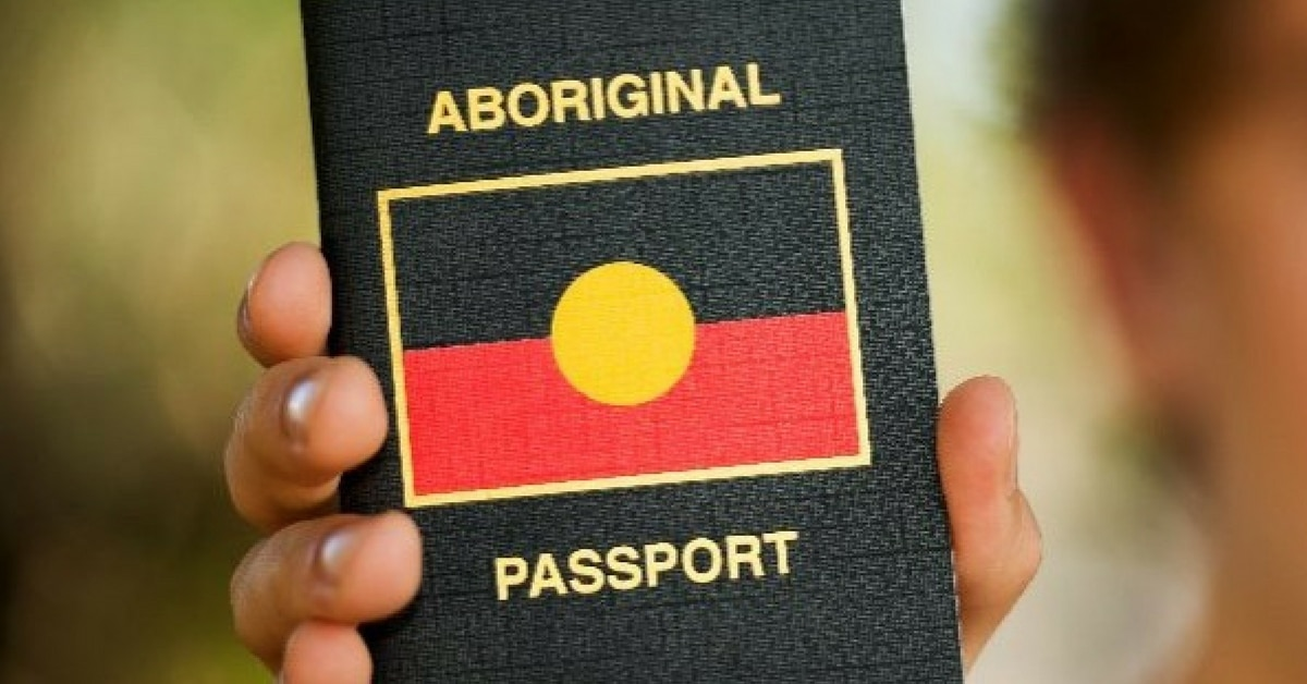 aboriginal passport australia sovereignty