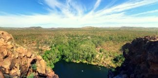 kakadu national park interactive guide gunlom waterfall