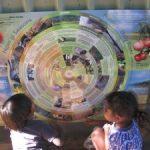 Children-from-Nauiyu-community-Daly-River-with-the-Ngangi-Seasons-calendar-NT-Credit-Emma-Woodward.-300×225