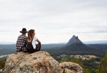 GLASSHOUSE MOUNTAINS SORRY DAY ABORIGINAL INDIGENOUS AUSTRALIA