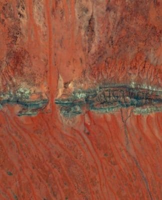 macdonnel ranges crocodile caterpillar dreaming australia aboriginal alice springs flight photo picture plane