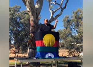 martin luther king III alice springs australia aboriginal