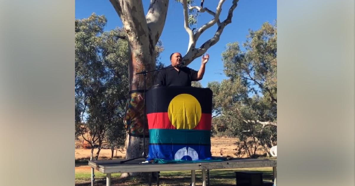 martin luther king III alice springs australia aboriginal